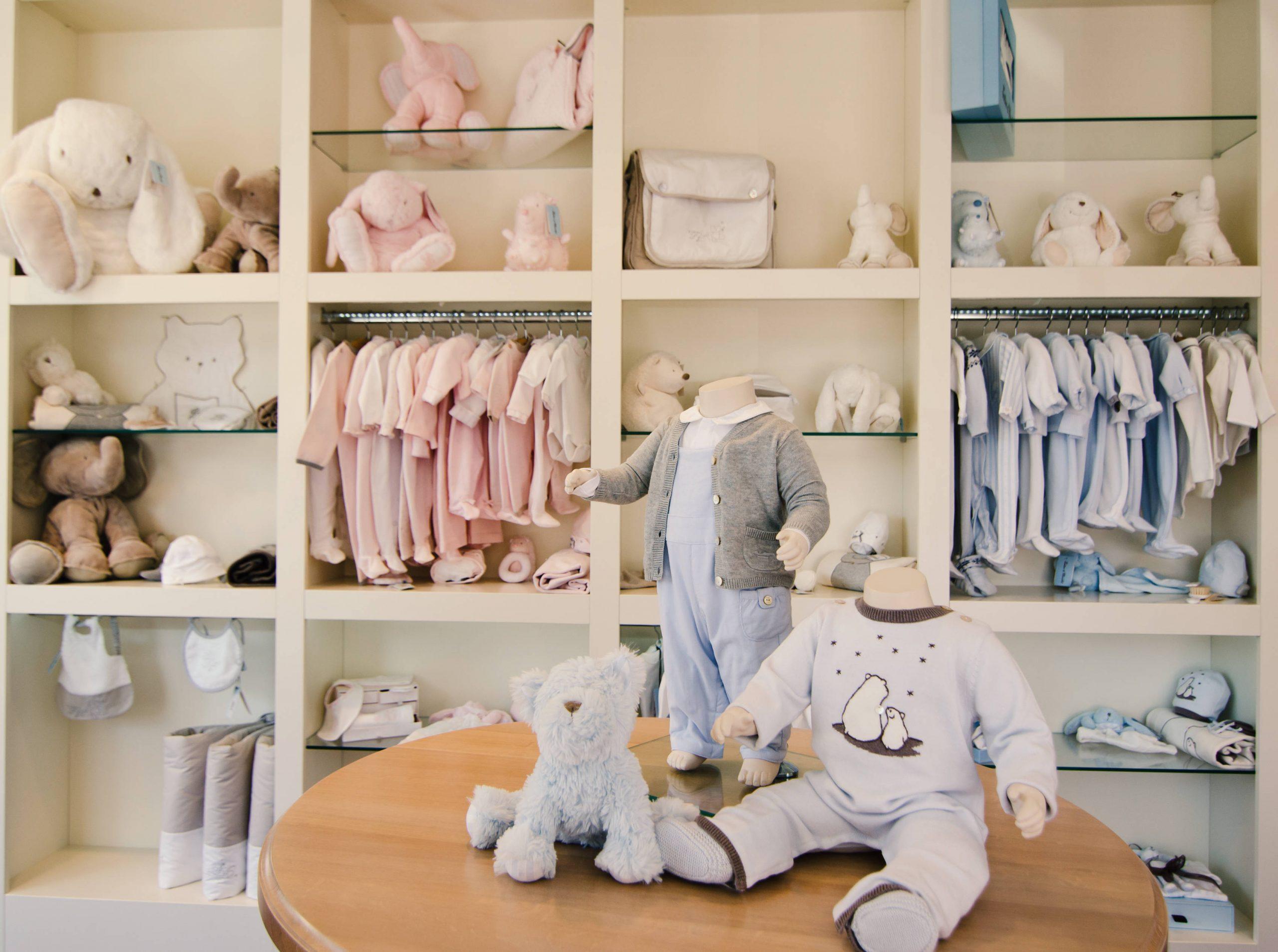 Cómo montar una tienda de ropa para niños